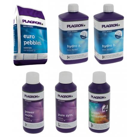Pack Hydro Plagron + engrais et stimulants
