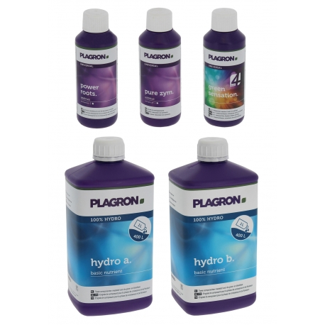 Pack Hydro A+B 1 litre - PLAGRON