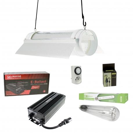 Kit cooltube électro 600W Florastar + HPS Agrolight