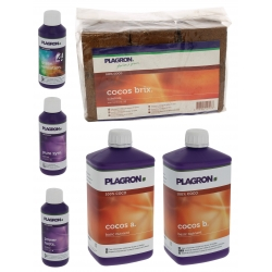 Pack Coco Plagron engrais + substrat