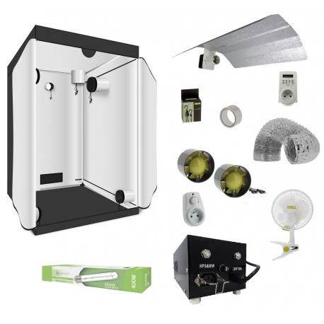 Pack VEGETAL Room 120 - HPS 400W et réflecteur ouvert