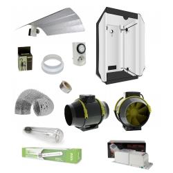 Pack VEGETAL Room 100x100x200cm - HPS Agrolight 400W