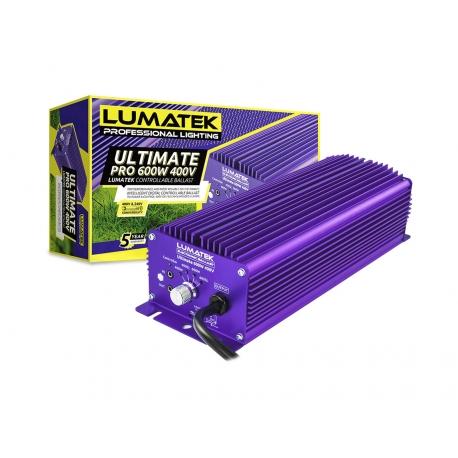 Ballast 600W Ultimate Pro Lumatek 240V et 400V