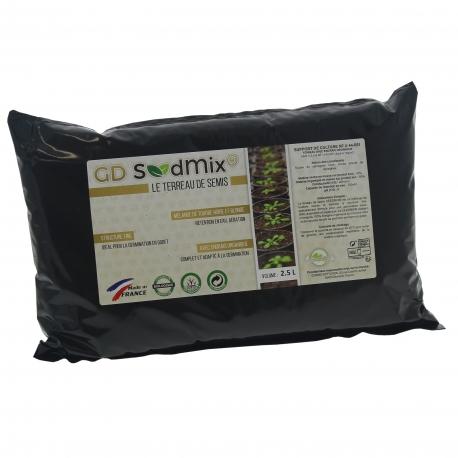 Terreau Seedmix Guano Diffusion en sac de 2.5 litres