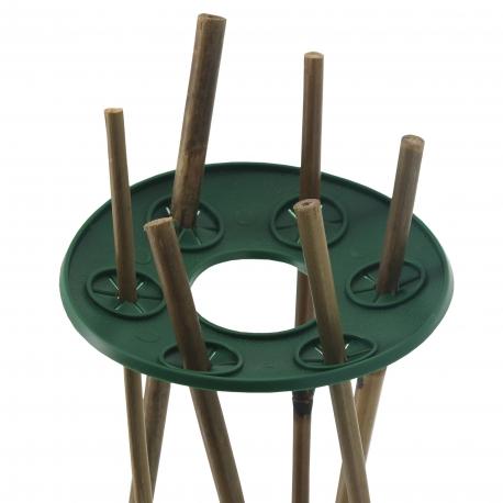 Lot de 2 supports pour cannes en bambou Garland