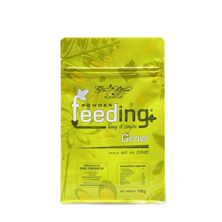 Engrais GROW Powder Feeding sachet 500gr - GREEN HOUSE