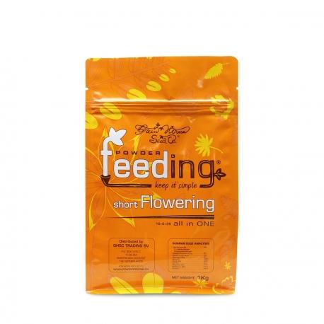 Engrais SHORT Flowering Powder Feeding 500gr - GREEN HOUSE
