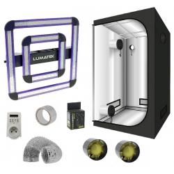 Pack tente G-MAX 80 - Panneau Led ATS 200W LUMATEK 460µmol/s