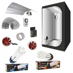 Pack tente CFL 125W Grow & Bloom FLORASTAR - G-Light 80
