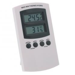 Thermomètre/Hygromètre - T° mini & maxi