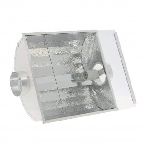 Réflecteur fermé à ventiler 125mm - 45x45x21cm