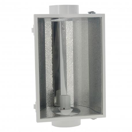 Réflecteur fermé à ventiler 150mm - câblé IEC 3m