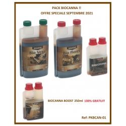 Pack engrais BIOCANNA