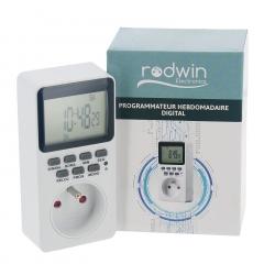 Programmateur hebdomadaire digital - RODWIN Electronics