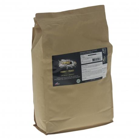 INSECT FRASS - Guano d'insectes en sachet de 4 kilos - Guano Diffusion