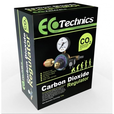 REGULATEUR DE CO2 ECOTECHNICS - Mano + Electrovane 220V