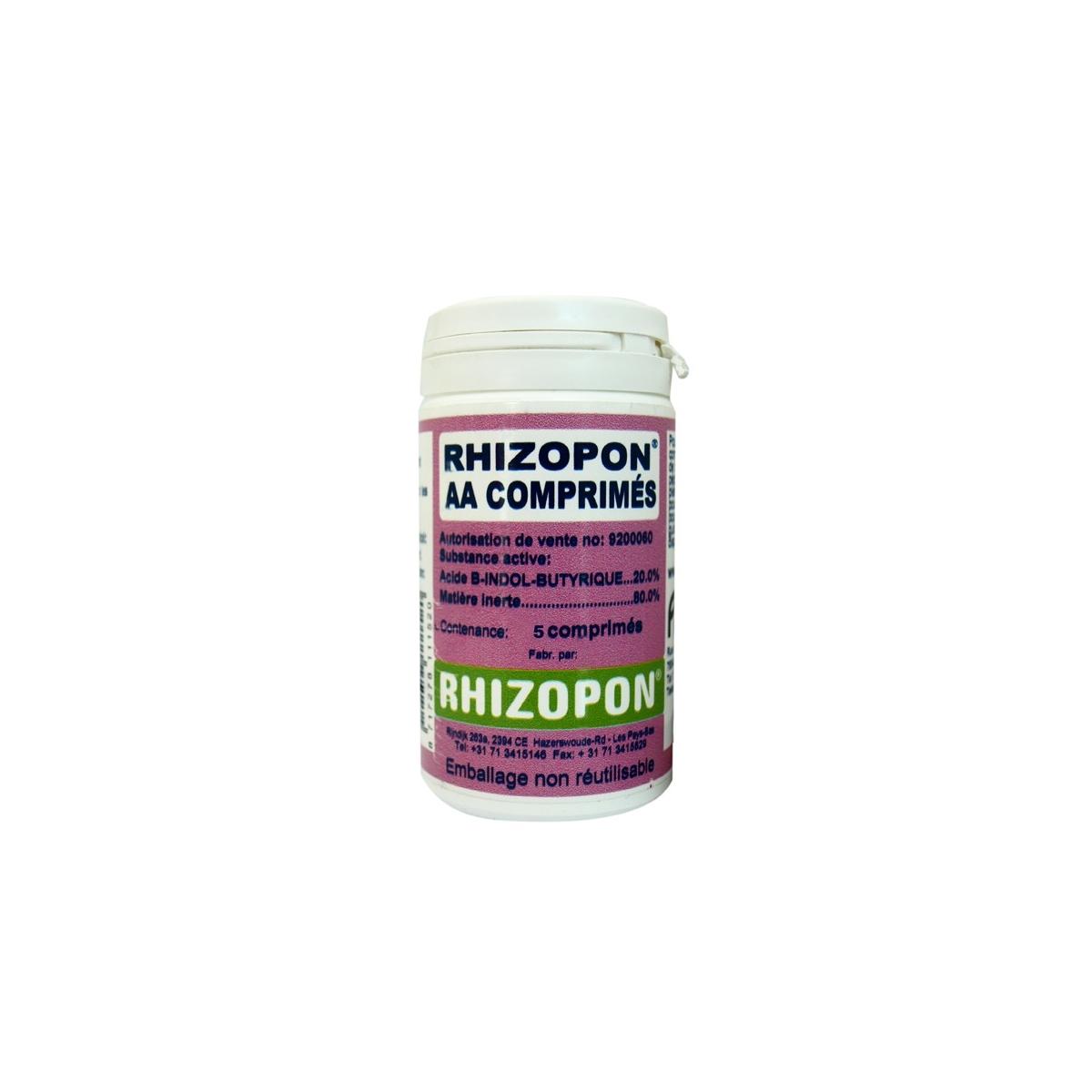 Rhizopon 5 comprim s d 39 hormones pour le bouturage hydrozone - Hormone de bouturage ...
