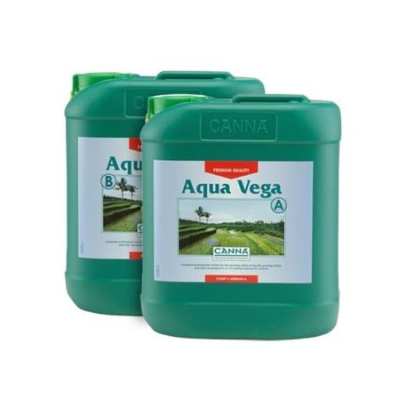 Engrais Aqua VEGA A+B croissance - 10 litres - CANNA