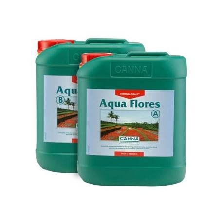 Engrais Aqua FLORES A+B floraison - 10 litres - CANNA