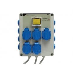 GSE - Timer Box 12 X 600W + chauffage - IP20 Timer Grasslin