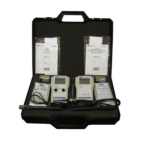 Malette testeurs pH + EC portables MW710 - MILWAUKEE