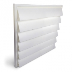 Grille de ventilation PVC - 221x299mm - Vents