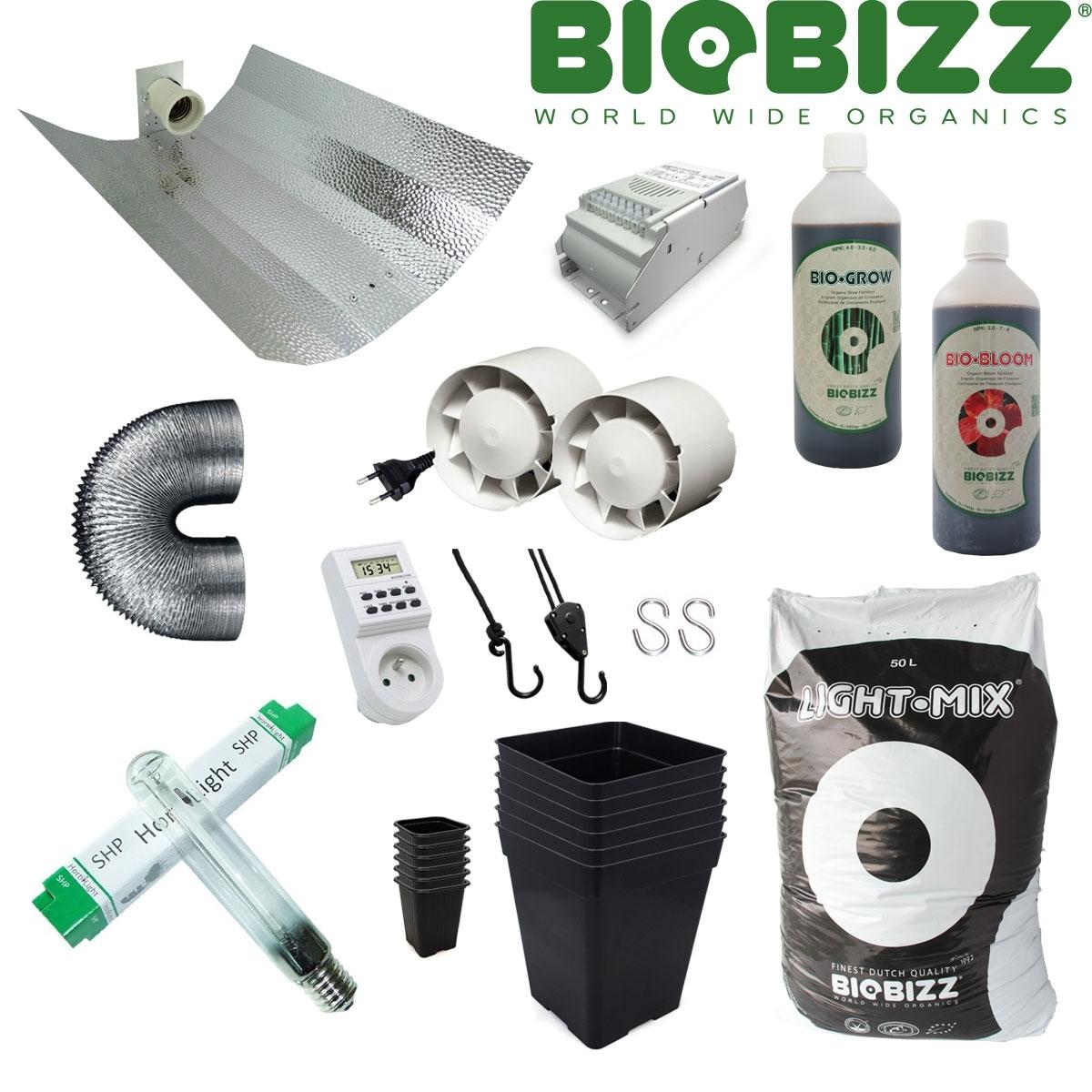 Biobizz Pack De Culture Int Rieur Terre Clairage 400w Hydrozone
