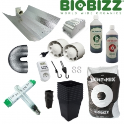 Pack culture terre ECO BIOBIZZ - 600W