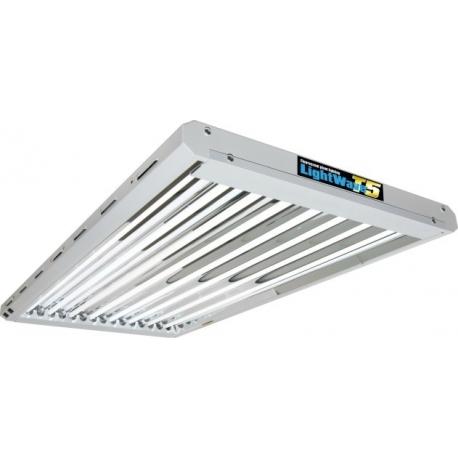 LightWave T5 432W + 8 Tubes - Growth Technology