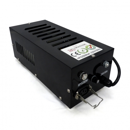 Ballast 250W BLACK Box IP20 - FLORASTAR