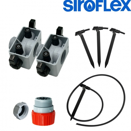 Kit irrigation Siroflex 4 plantes