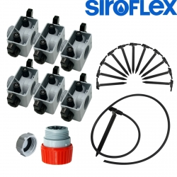 Kit irrigation Siroflex 12 plantes