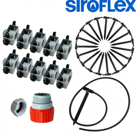 Kit irrigation Siroflex 20 plantes