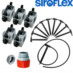 Kit irrigation Siroflex 10 plantes