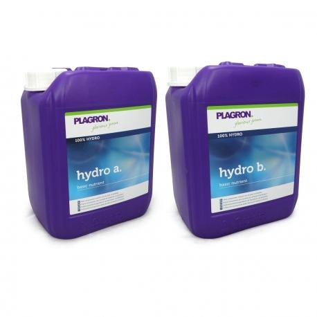 Engrais pour l 39 hydroculture sur tout substrat inerte hydro a b for Programme plagron