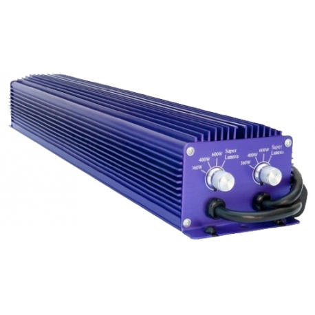LUMATEK BALLAST TWIN - 2 X 600W Dimmable