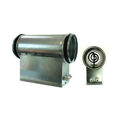 Chauffage de gaine 1200W avec thermostat - sorties 200mm - VENTS