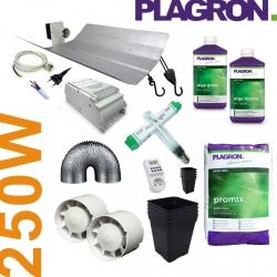 Pack de culture Terre Organic Plagron + éclairage 250W