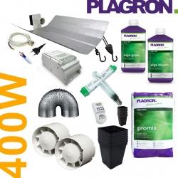Pack de culture Terre Organic Plagron + éclairage 400W