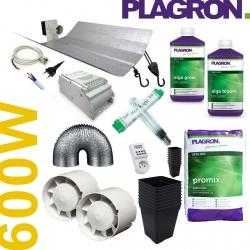 Pack de culture Terre Organic Plagron + éclairage 600W