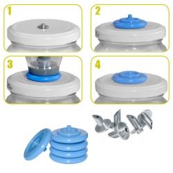 Kit 5 valves + poiçons - Secret Smoke