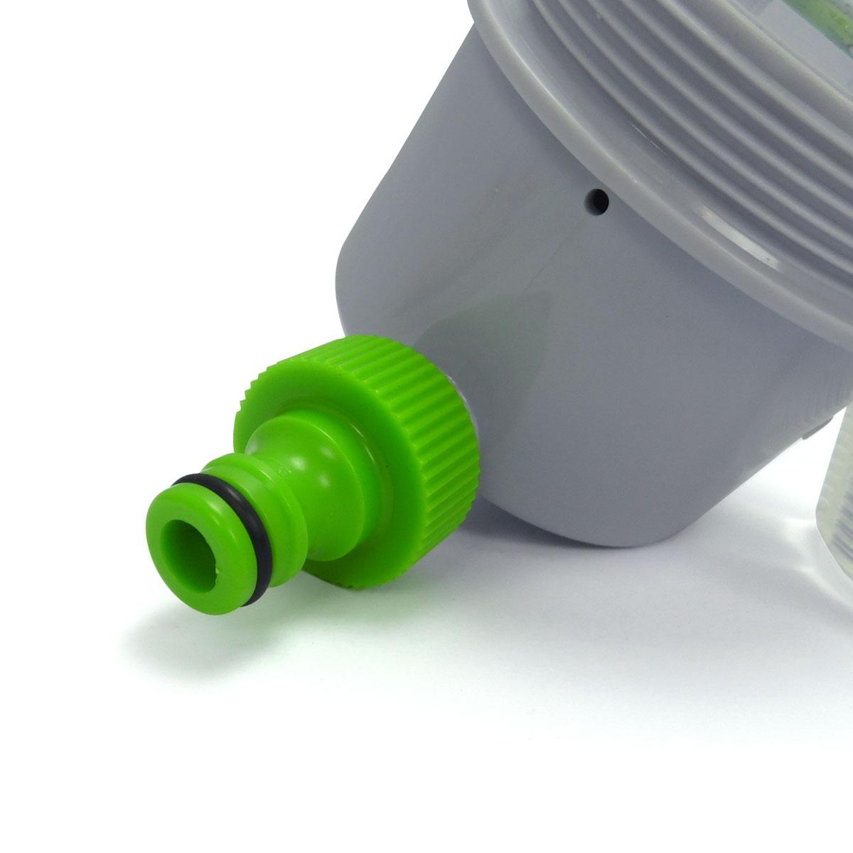 Programmateur d 39 arrosage ext rieur wassertech hydrozone for Arrosage exterieur