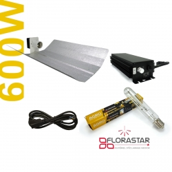 Kit lampe 600W Electro Horti Dimmable - Agro Florastar