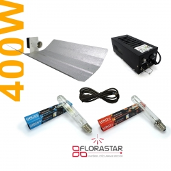 Kit lampe 400W Black Box - MH + HRO Florastar
