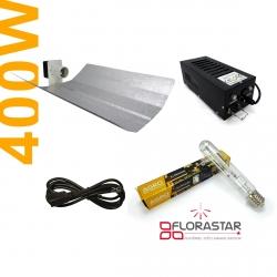 Kit lampe 400W Black Box - Agro Florastar