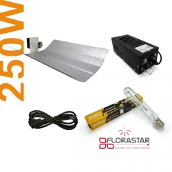 Kit lampe 250W Black Box - Agro Florastar
