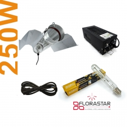 Kit lampe 250W Black Box - Agro Florastar + BAT cooltube