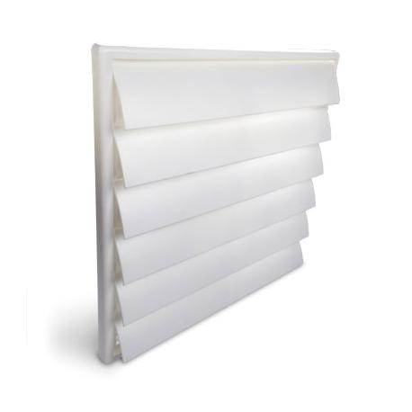 Grille de ventilation PVC - 214x250mm - Vents