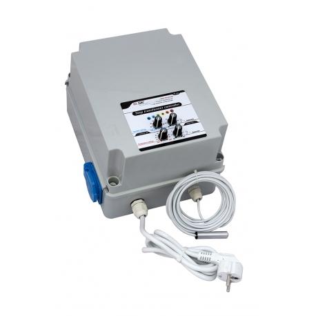 GSE - Humidity & temp. step transformer Controller 2 fan 8A FR