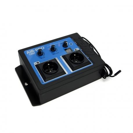 RAM AIR PRO - contrôleur de ventilation 2 entrées - Rapid Air Movement